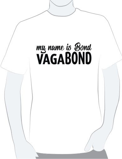Foto: my name is bond, vagabond