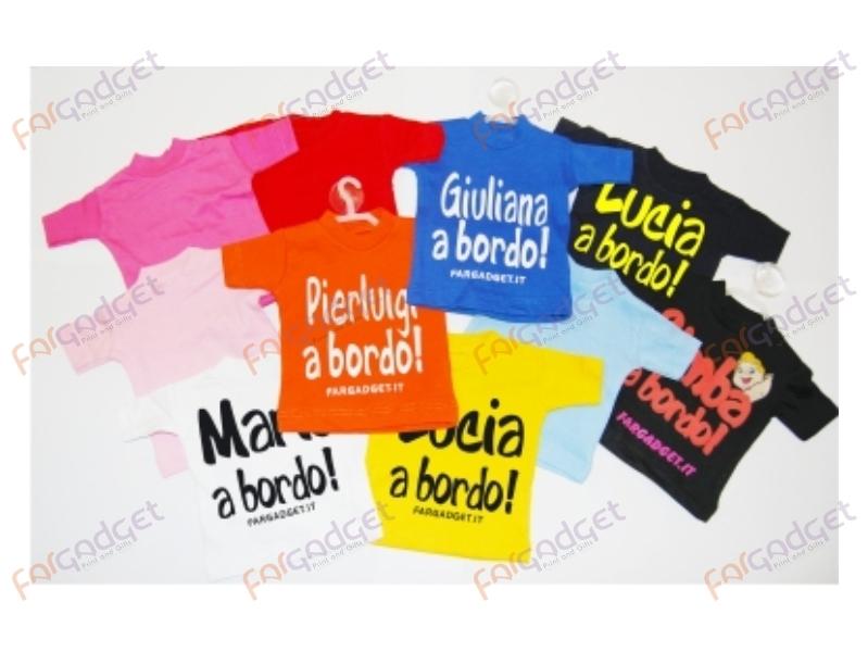 Mini T Shirt Colorata